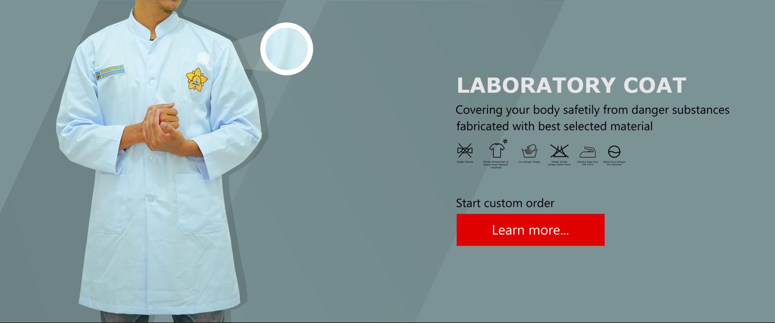 Tempat order jas lab partai besar