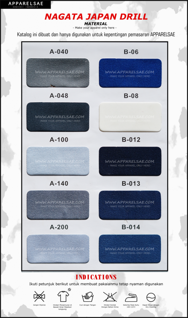 Katalog Warna Nagata Drill
