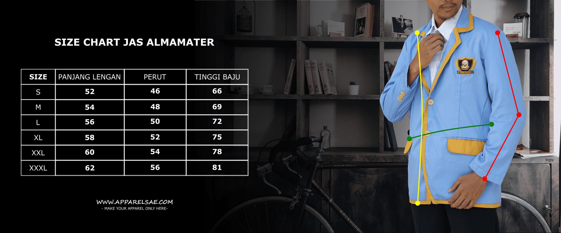 Size Chart Almamter